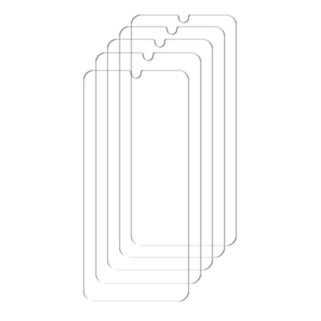 하이온 액정보호 휴대폰 강화유리 9H글라스, 5개