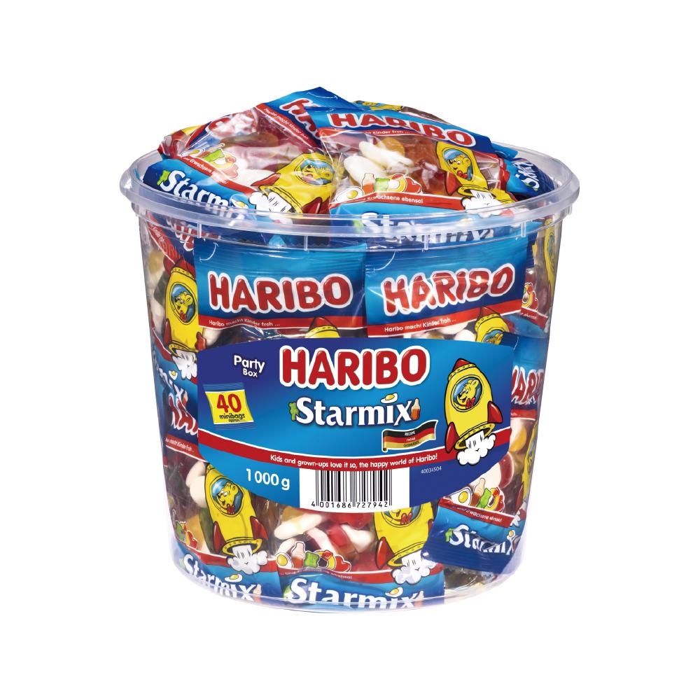 하리보 스타믹스 젤리, 1kg, 1개
