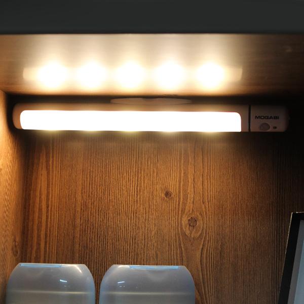 모가비 LED 무선 센서등 MOG-097, 전구색