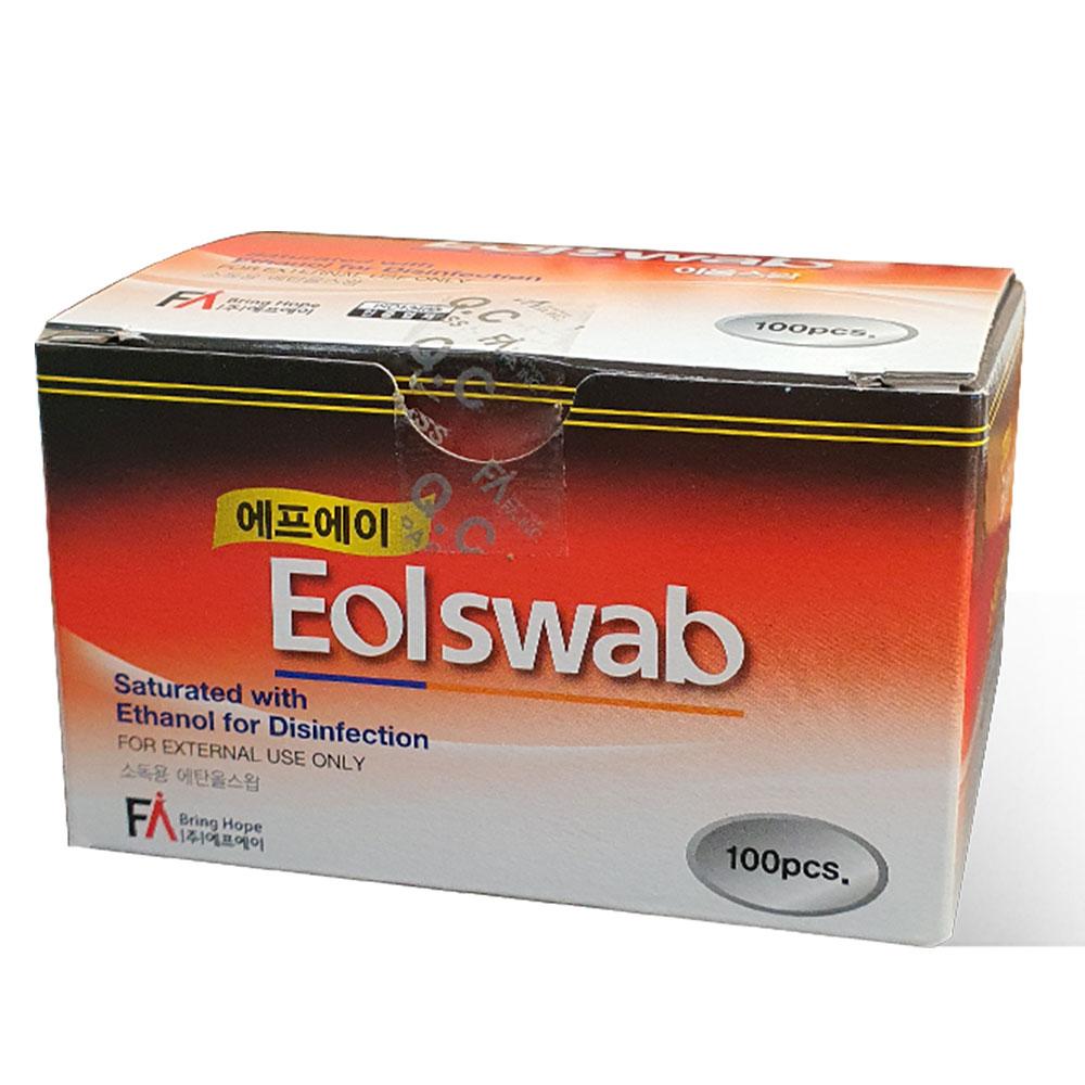 에프에이 이올스왑 알콜솜, 100개입, 1개