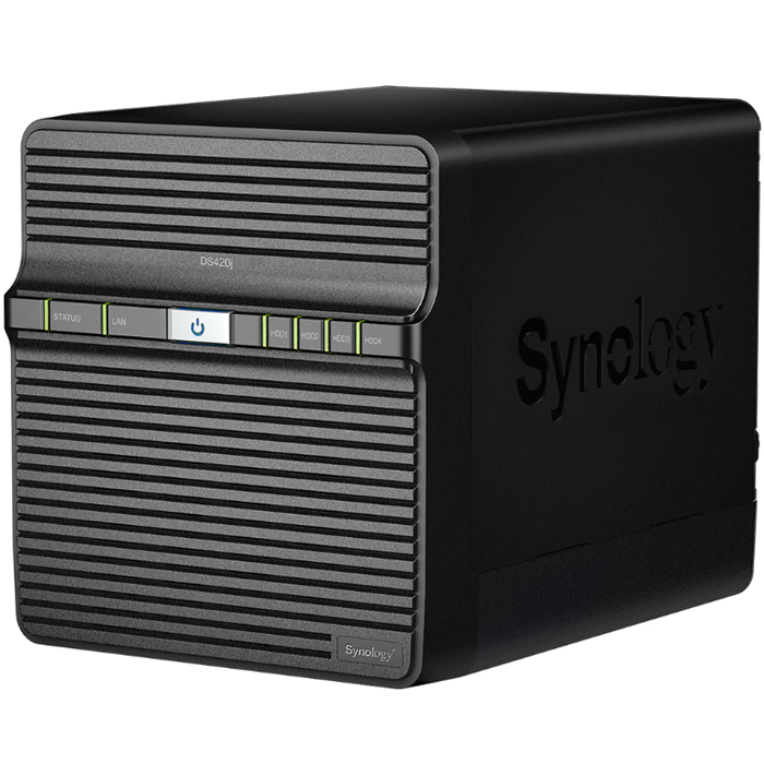 시놀로지 컴퓨터 외장하드 NAS DS420J