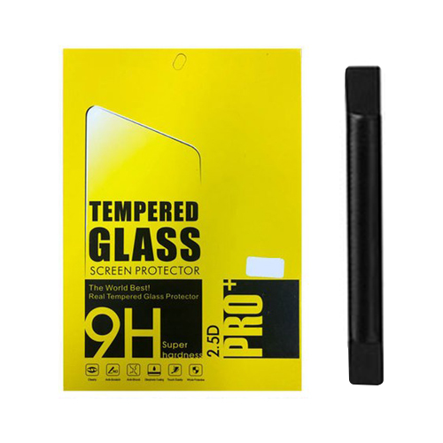 태블릿PC 액정보호필름 2매 + 펜슬 수납 밴드, 혼합색상