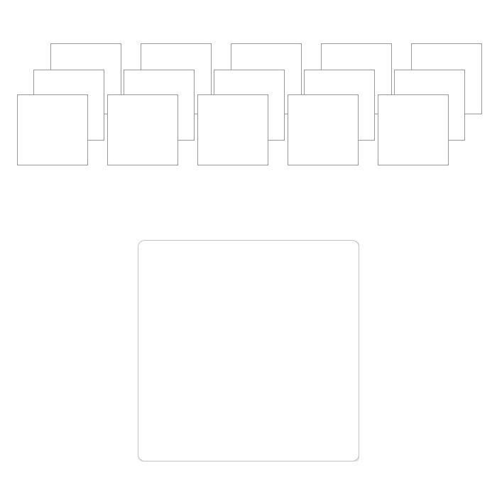제이라이프 가구바닥 보호 투명 실리콘 패드, 단일색상, 16개