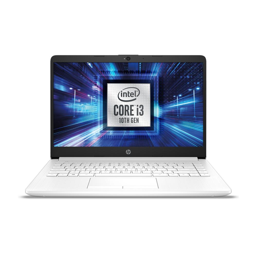 HP 노트북 스노우 화이트 14s-dq1092TU (i3-1005G1 35.6cm WIN10), 윈도우 포함, 256GB, 4GB