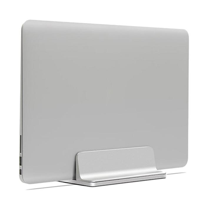 알루멘 알루미늄 맥북 노트북 수직 거치대 버티컬 스탠드 N2, 실버