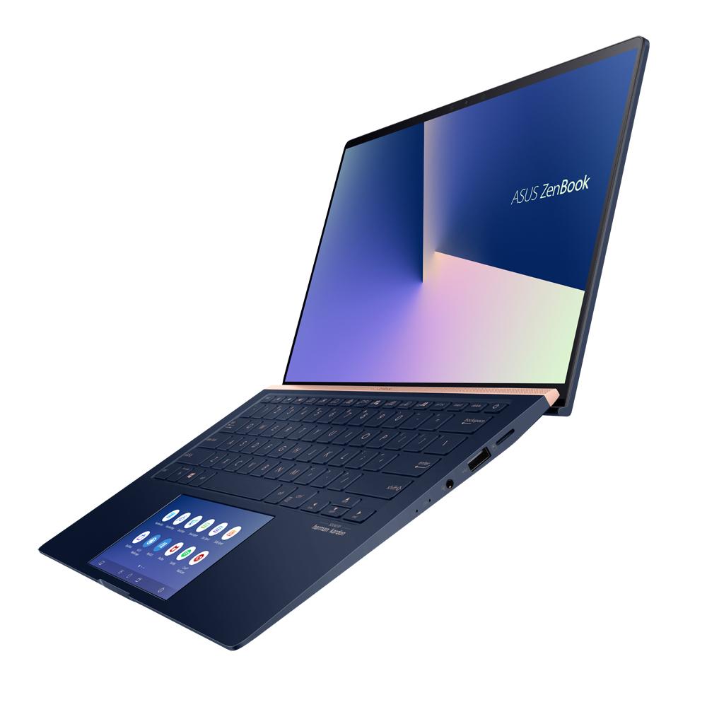 에이수스 젠북14 노트북 로얄블루 UX434FLC-A6428T (i5-10210U 35.56cm WIN10 Home MX 250), 포함, NVMe 512GB, 16GB