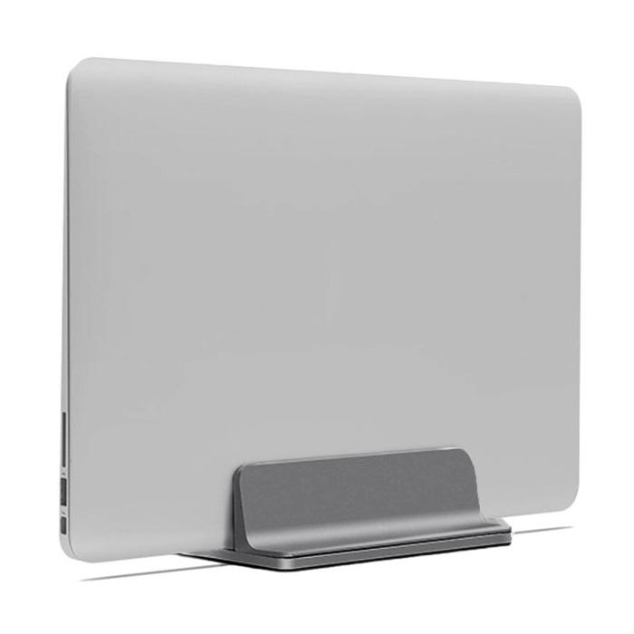 알루멘 알루미늄 맥북 노트북 수직 거치대 버티컬 스탠드 N2, 그레이