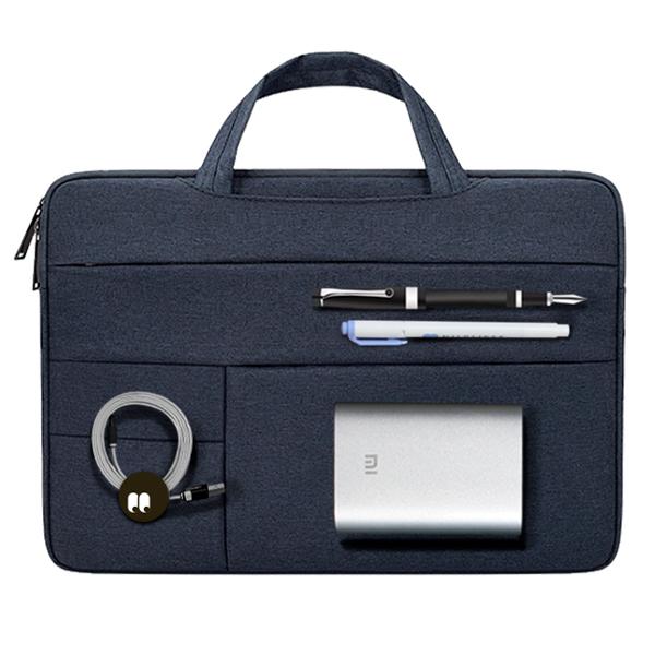 디스트 젤리코코 노트북 파우치 + 핀버튼 2종 세트, 파우치(네이비), 핀버튼(A, B)