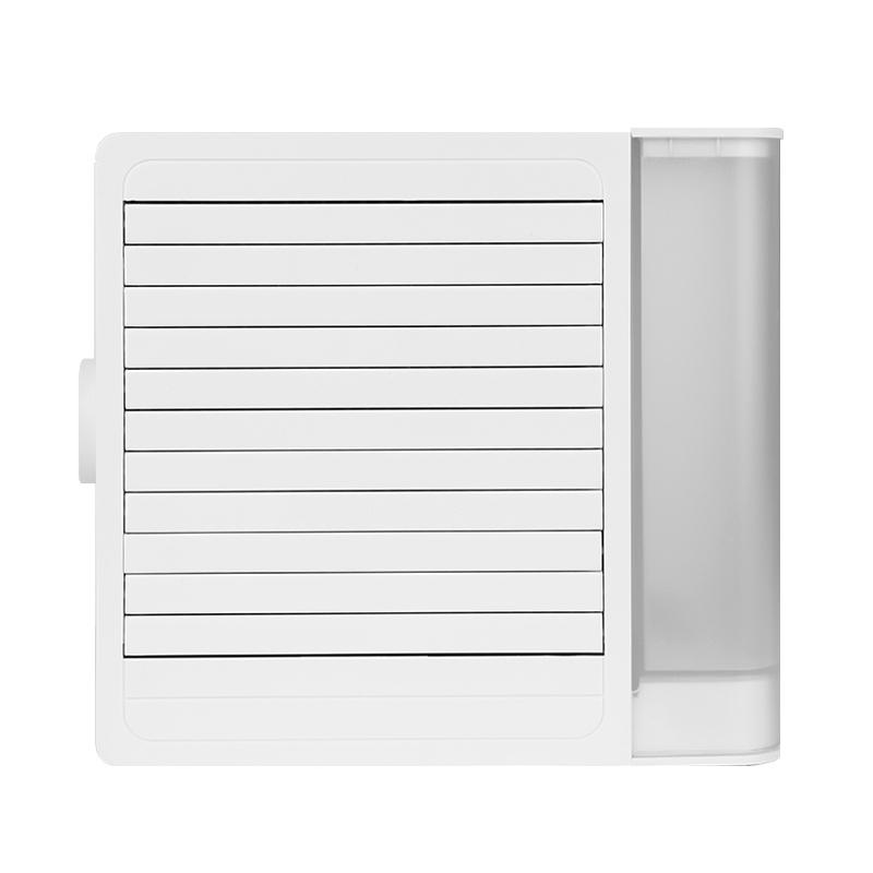 We Cool 하이브리드 블루 필터 공기청정 가습 미니 냉풍기, AC800