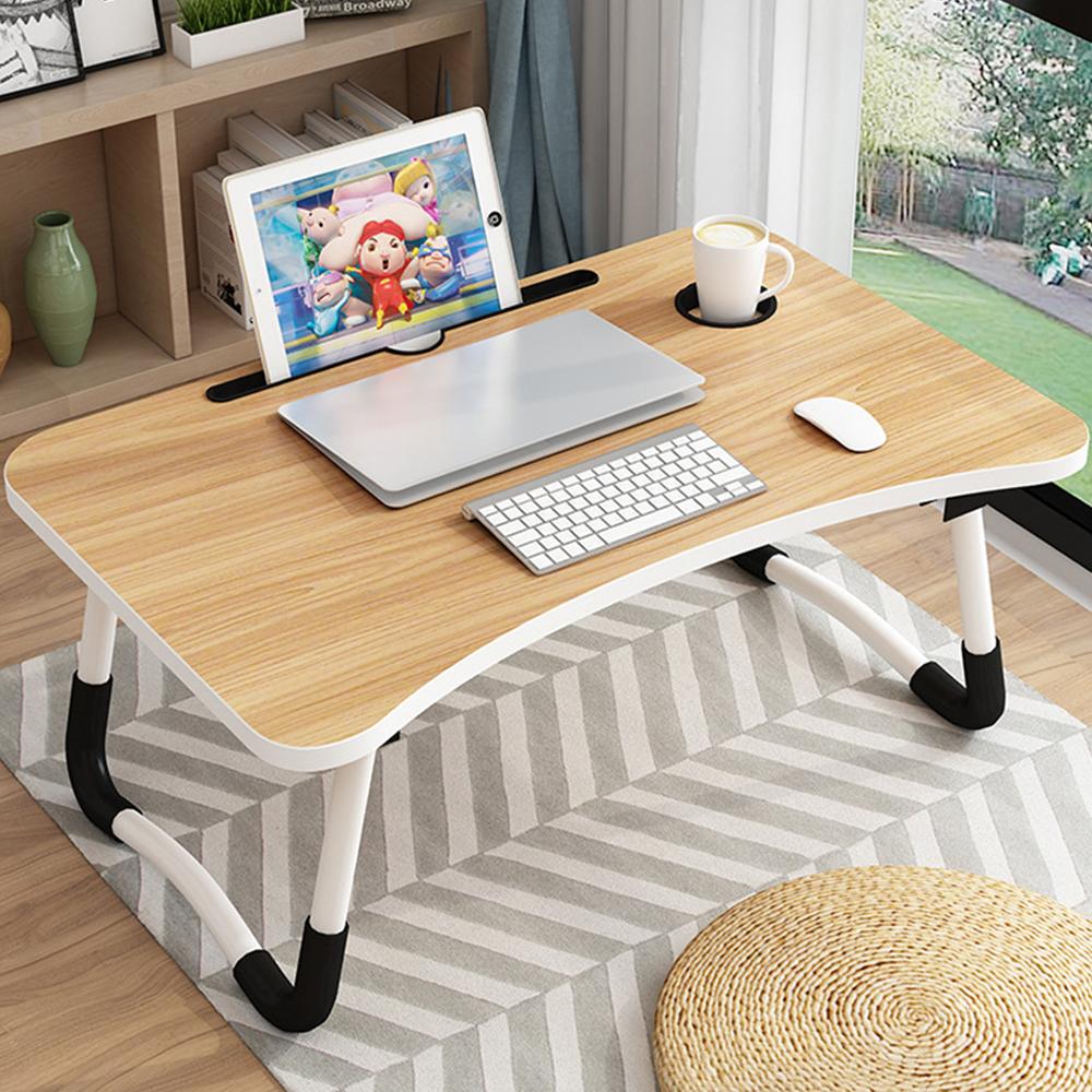 오엠티 만능 폴딩 노트북 테이블 OSO-P9, 우드