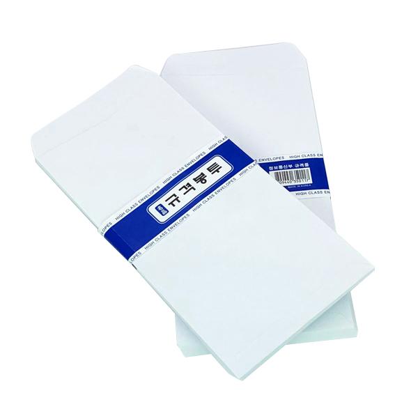 무지 규격 편지 봉투 70p, 화이트, 10개