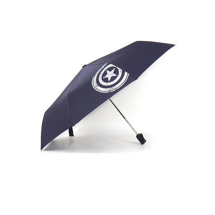마블 캡틴아메리카 크랙 3단 완전 자동 우산 58cm