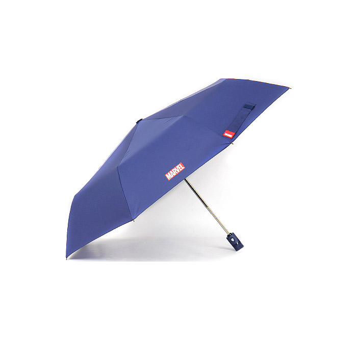 마블 아이언맨 크랙 3단 완전 자동 우산 58cm