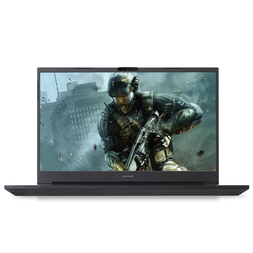 한성컴퓨터 BossMonster 노트북 X7067T (i7-10875H 43.94cm WIN10 Home GTX1660Ti), 포함, NVMe 250GB, 8GB