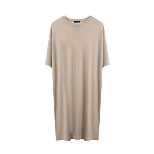 마른파이브 여성용 루즈핏 모달 원피스 잠옷