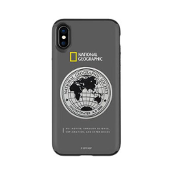 내셔널지오그래픽 메탈데코 슬라이드 휴대폰 케이스