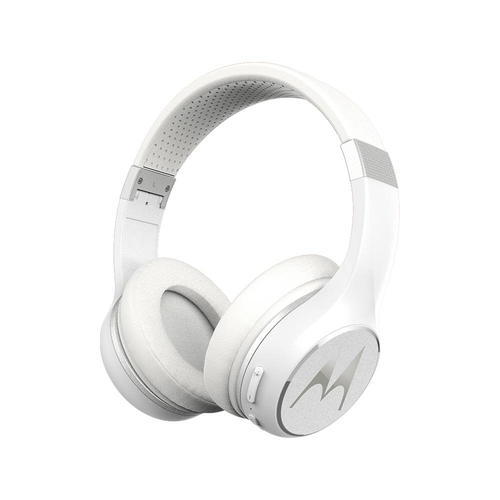 모토로라 이스케이프220 무선 접이식 헤드폰, 화이트, 단일상품