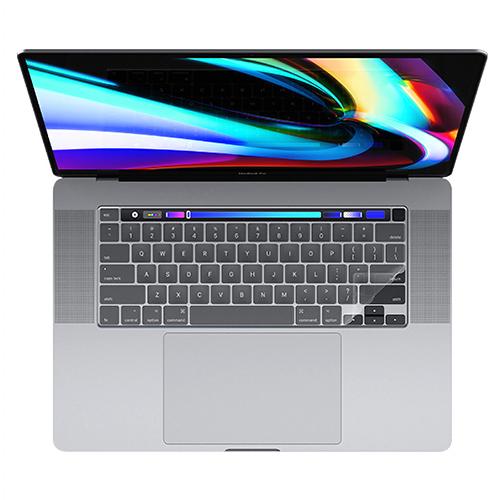 포지오 iDeal 맥북 프로 16 키스킨, 투명, 1개