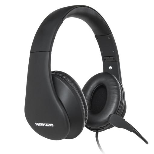 사운드트렌드 카시오페이아 딥 보이스 랭귀지 헤드셋, ST-UDY400, 단일색상