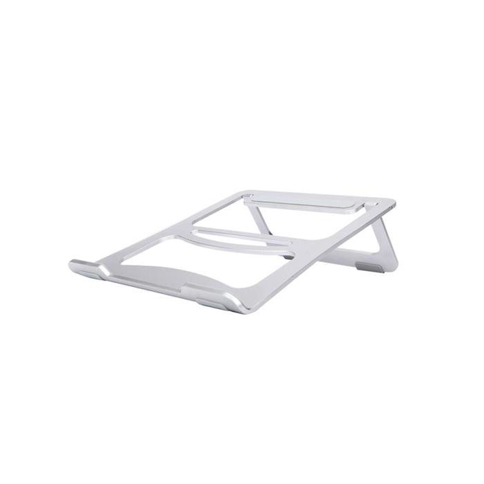 알루멘 알루미늄 맥북 노트북 접이식 거치대 스탠드 N1, 실버