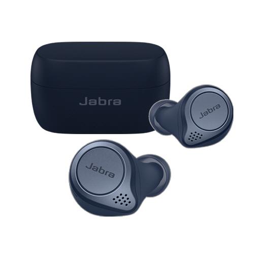 자브라 Elite Active 75t 블루투스 이어폰, OTE120L, OTE120R, 네이비