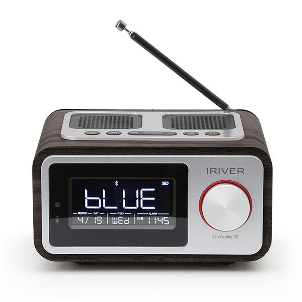 아이리버 SOUND RETRO 블루투스 스피커 IR-RA3, 블랙
