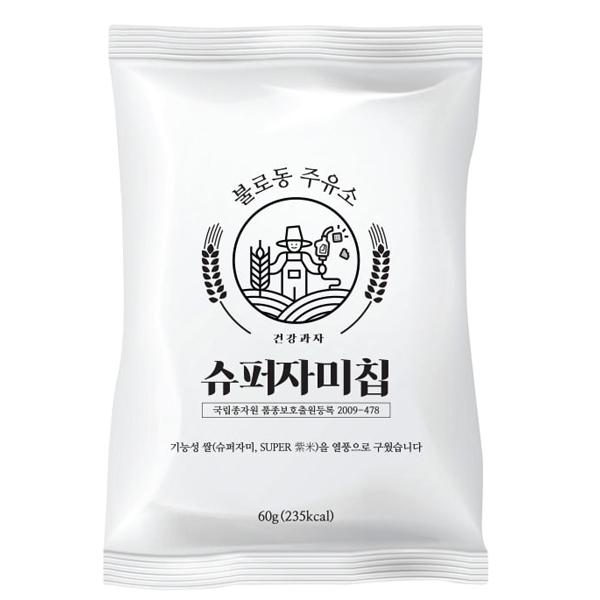 불로동주유소 슈퍼 자미칩, 60g, 1개