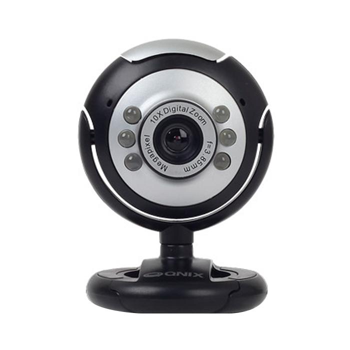 큐닉스 LED램프 마이크내장 화상카메라 WEBCAM 2020, 혼합색상