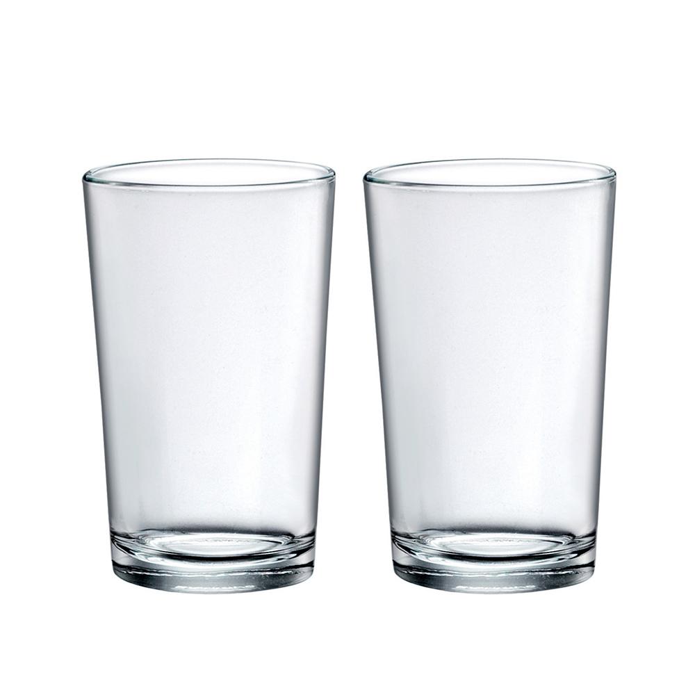 보르미올리 카나 리사 물컵 500ml, 투명, 2개