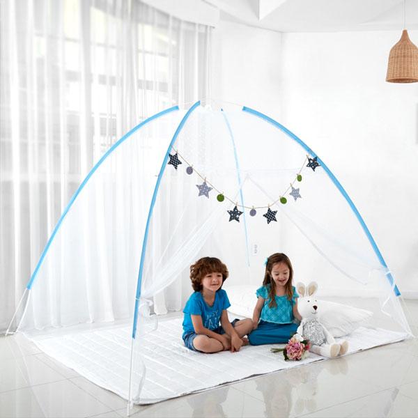 아웃팅 원터치 모기장 텐트, 혼합색상
