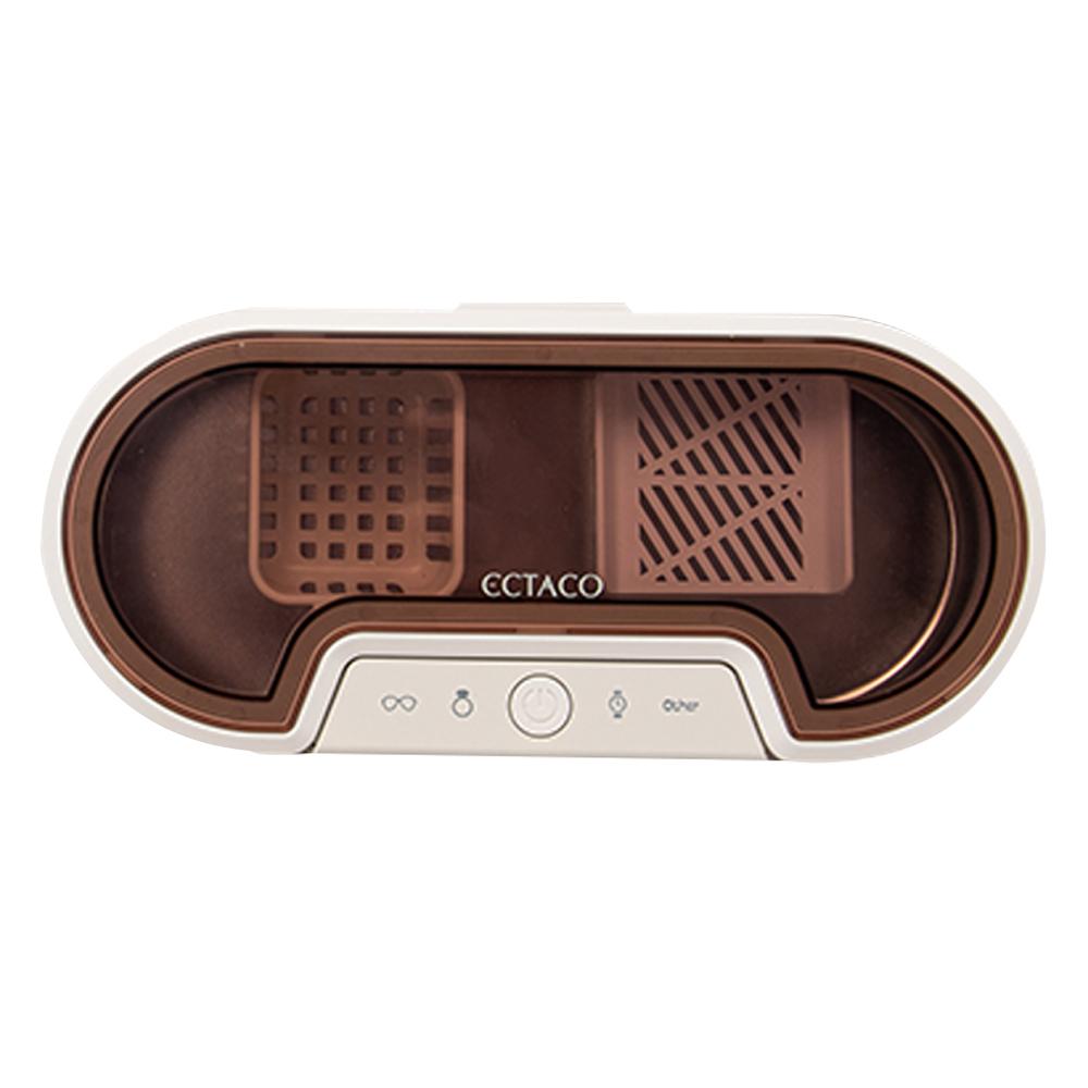 엑타코 캐비테이션 초음파 세척기 안경 악세서리 세척기, UT100(베이직)