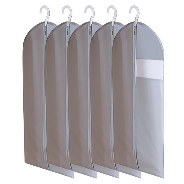 마켓피오 모던 부직포 옷커버 그레이 60 x 130 cm, 1개입, 5개