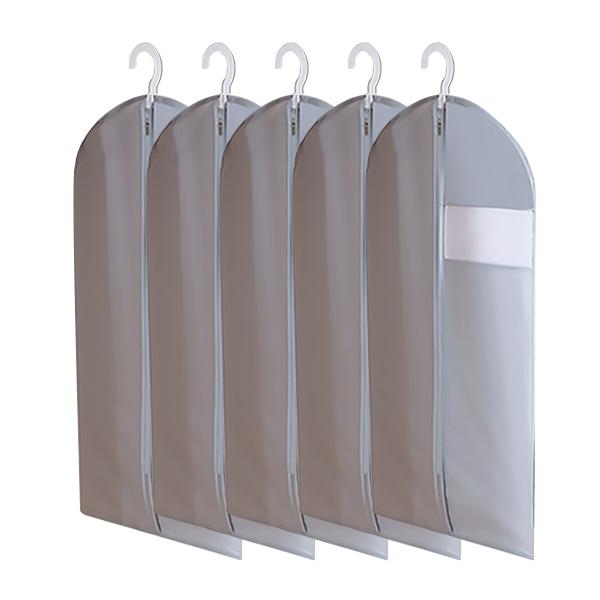 마켓피오 모던 부직포 옷커버 그레이 60 x 110 cm, 1개입, 5개