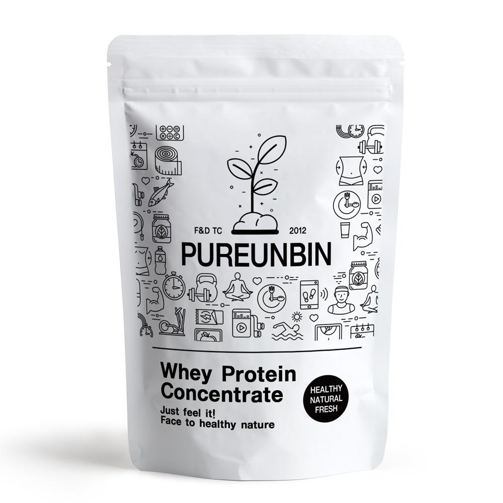 푸른빈 WPC 농축 유청 단백질 분말 가루, 1000g, 1개