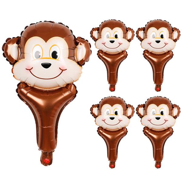 스틱 동물풍선, 원숭이, 5개