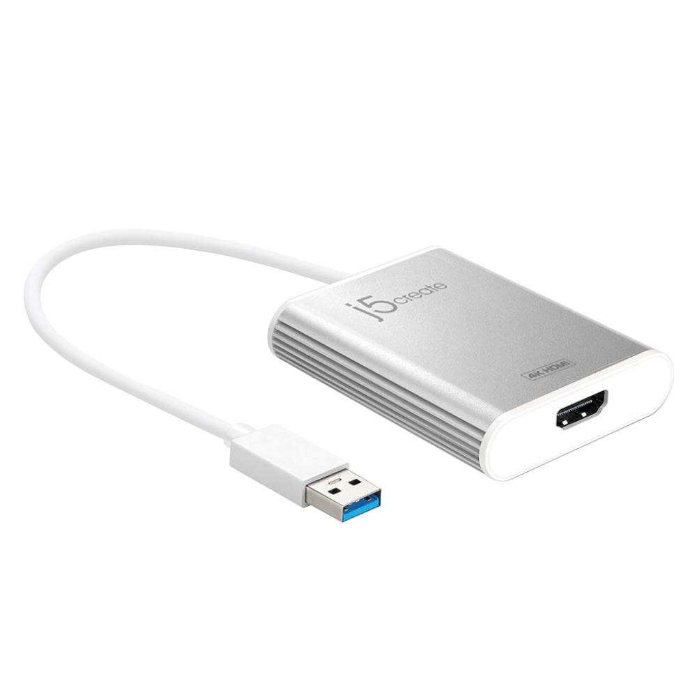 넥스트 USB3.0 to 4K HDMI 디스플레이 아답터 변환젠더, NEXT-JUA354