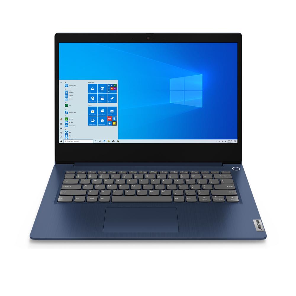 레노버 Ideapad Slim3-14IIL 5W 노트북 어비스블루 81WD002LKR (i5-1035G4 35.5cm WIN10 Home), 포함, NVMe 256GB, 4GB