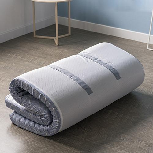 메이크슬립 7 ZONE 접이식 침대 매트리스 토퍼 12cm, 그레이