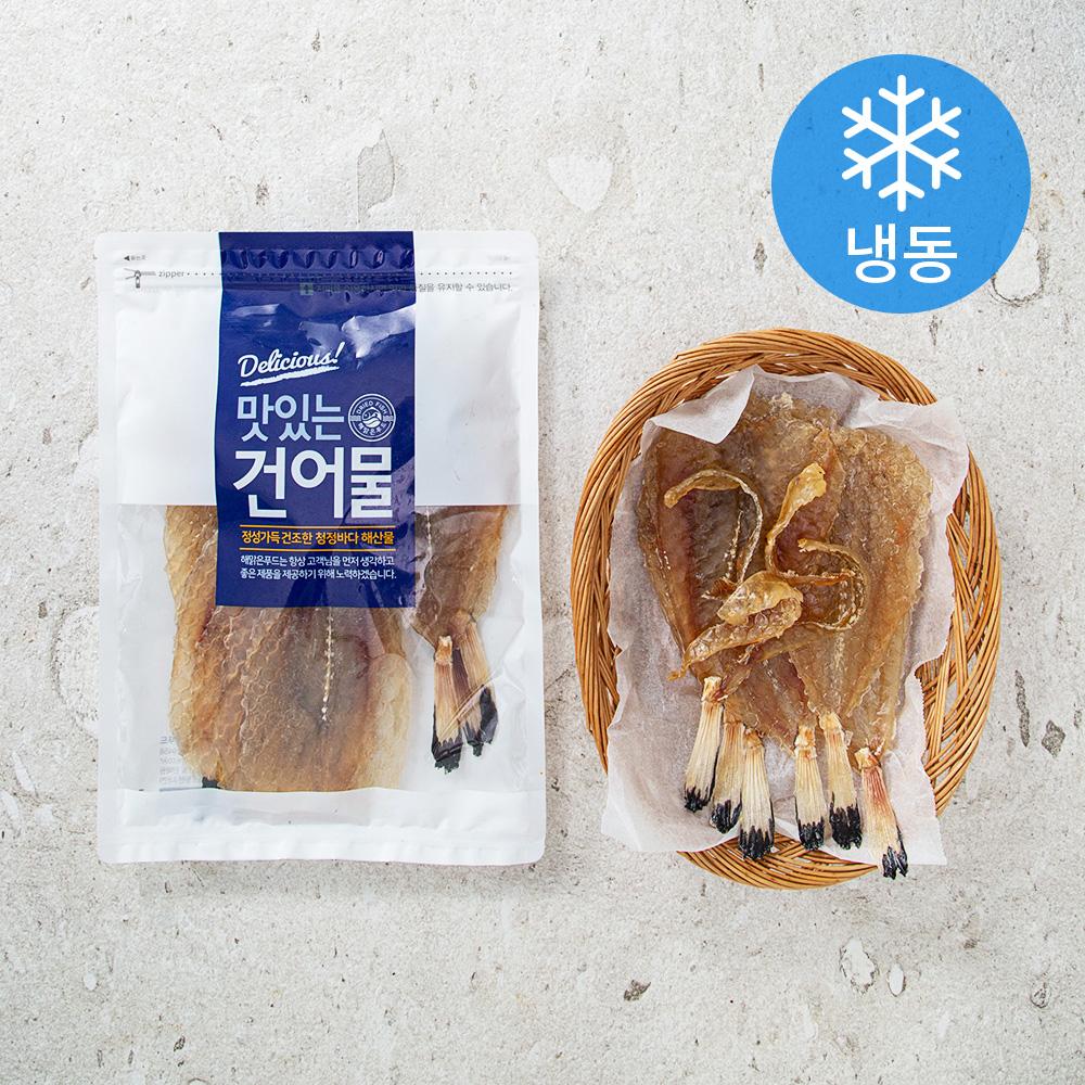 해맑은푸드 통순살 아귀포 (냉동), 300g, 1봉