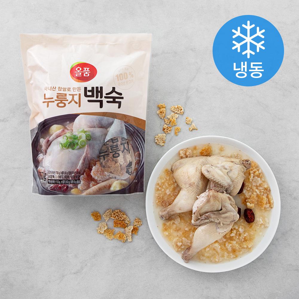 올품 누룽지 백숙 (냉동), 916g, 1개
