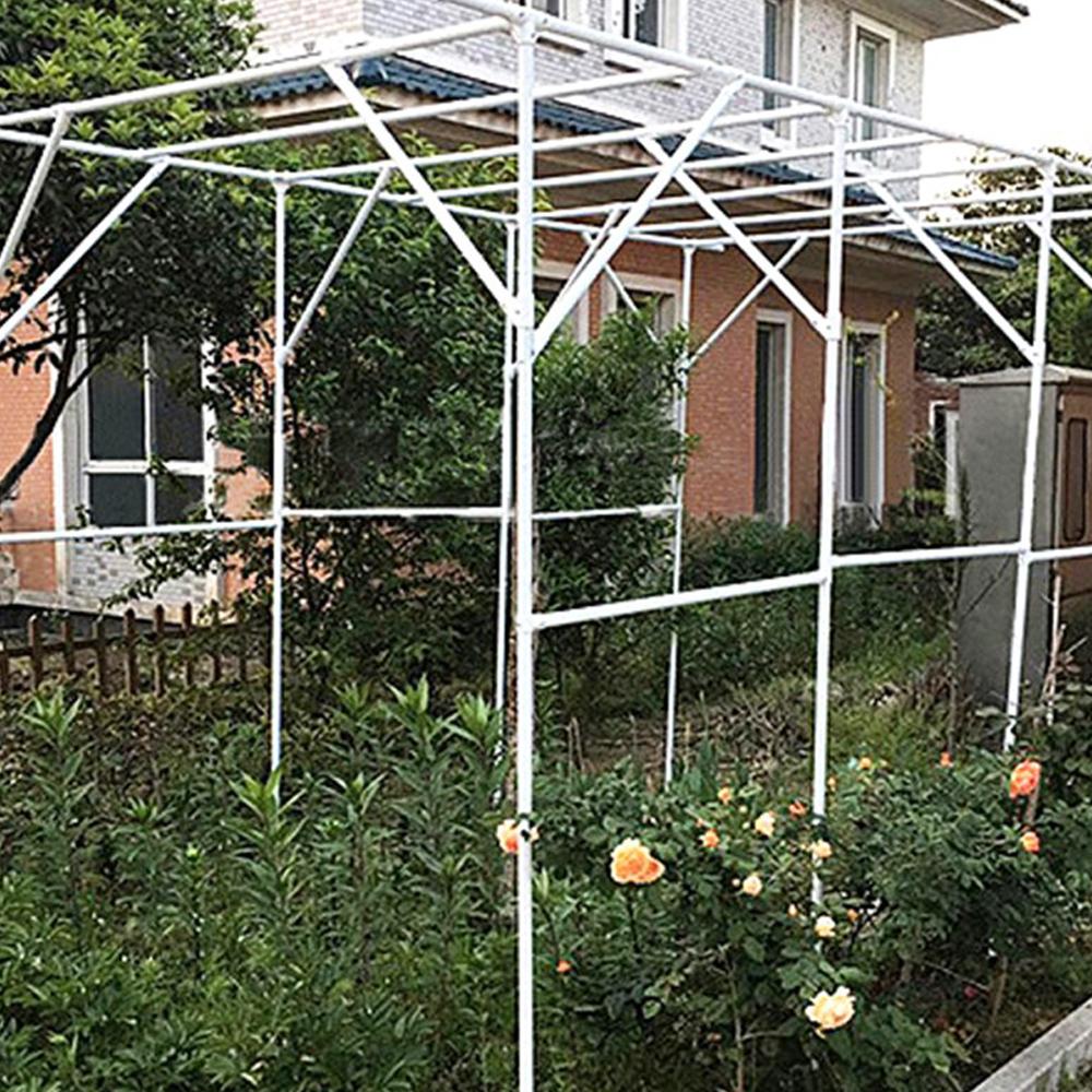 21세기트랜드 포도 넝쿨 아치 정원 장식 중, 화이트
