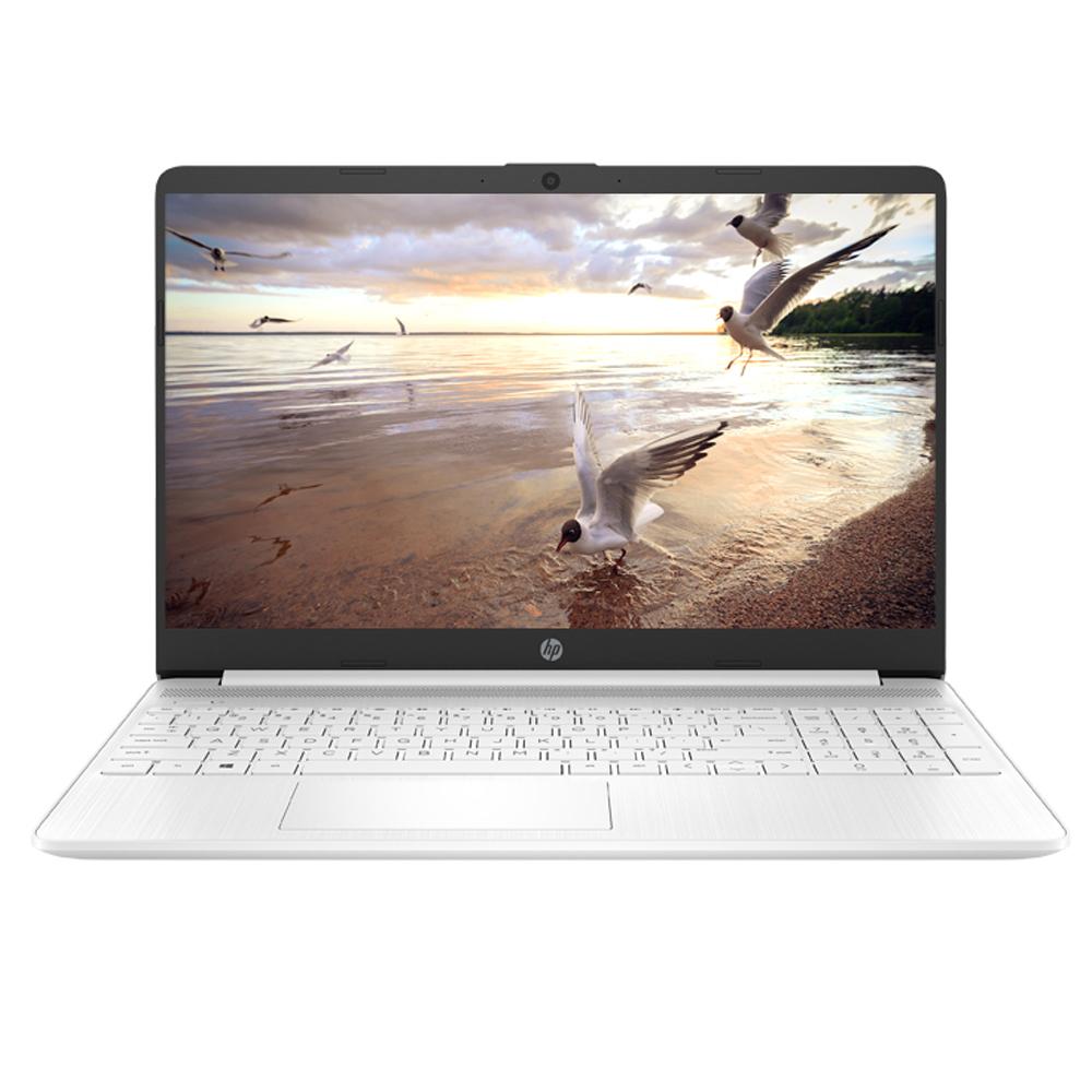 HP 노트북 화이트 15s-fq1008TU (i5-1035G1 39.6cm WIN10 Home), 포함, 256GB SSD, 4GB