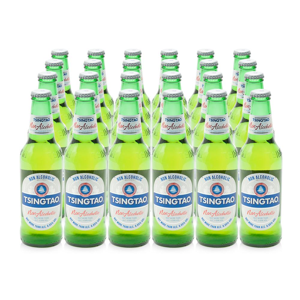 칭따오 논알콜릭 병, 330ml, 24개