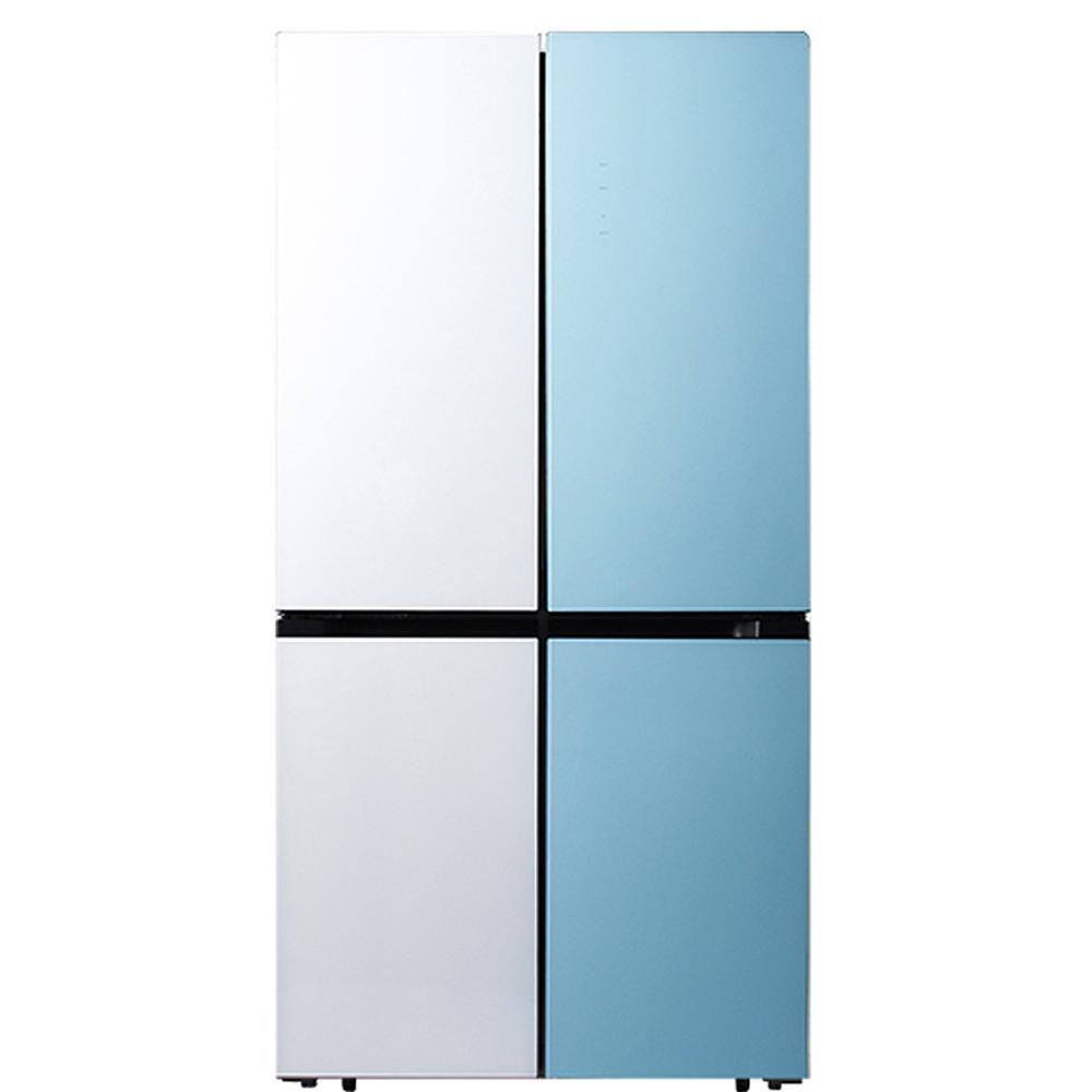 캐리어 클라윈드 파스텔 콤비 4도어 냉장고 CRFSN560WMFC 566L 방문설치