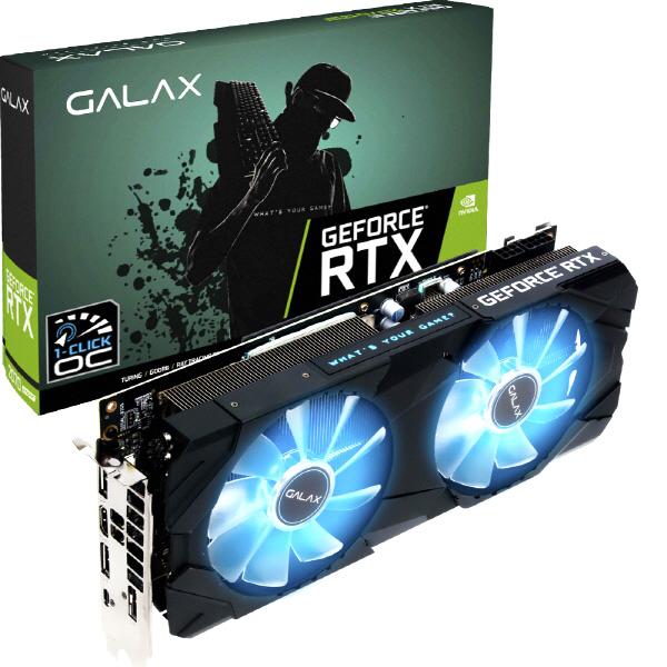 GALAX GeForce RTX 2070 SUPER EX BLACK OC D6 8GB LS 그래픽카드, 단일상품