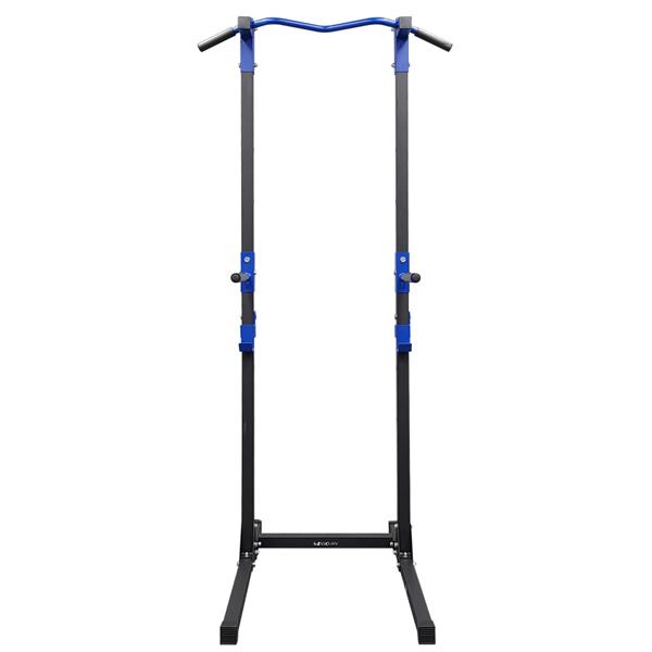 이고진 치닝디핑 철봉 턱걸이 풀업 운동기구 EX60, 블루 + 블랙