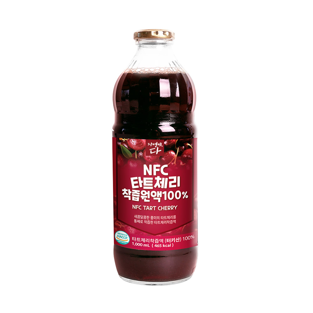 자연에다 NFC 타트체리 착즙원액, 1000ml, 1개