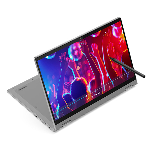 레노버 노트북 Platinum Grey Flex 5 14IIL i5 W10 (i5-1035G1 35.5cm WIN10 Home), 포함, NVMe 256GB, 8GB