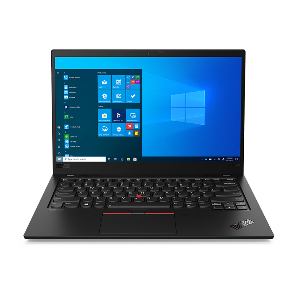 레노버 노트북 8th ThinkPad X1 CARBON-20U9000DKR (i7-10510U 35.5cm WIN10 Pro), 포함, NVMe 512GB, 16GB