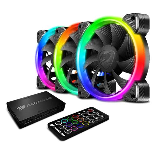 쿠거 VORTEX RGB HPB 120 PWM HDB COOLING KIT 3p, 단일상품